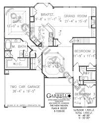 new haven house plan 00239 1st floor plan