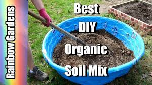 diy the best organic soil how to make square foot garden raised beds mix maxresdefault mixture