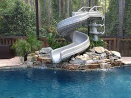 inground pools with waterfalls and slides. Pool Slides And Waterfalls With Adidas - What To Consider During Installation \u2013 JesseCoombs.com ~ Home Inground Pools R