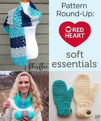 Redheart Free Crochet Patterns Unique Pattern RoundUp Red Heart Soft Essentials Yarn Red Heart