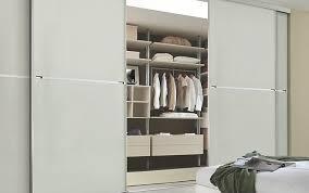 Lovely Minimalist Made To Measure Sliding Wardrobe Doors In White