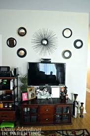 wall behind tv decorating wall behind decorating creative ideas decorate wall behind minimalist decor above at home and interior wall mounted tv decorating