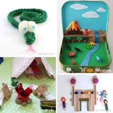 50 fun diy toys for kids including small worlds and other imaginary play ideas imaginaryplay