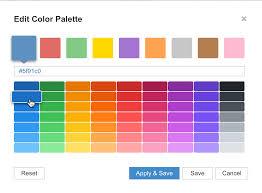 Chart Palettes