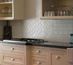 Subway tile back splash. Love the diagonal section!