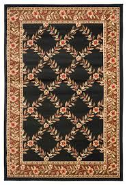 safavieh lyndhurst lnh557 9025 black brown area rug