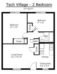 two bedroom house plans. Tiny House Single Floor Plans 2 Bedrooms | Apartment Tennessee Tech University By Two Bedroom U
