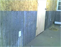 interior garage walls interior garage walls insulating interior garage walls corrugated metal for the journal board