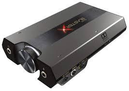 Внешняя <b>звуковая карта Creative Sound</b> BlasterX G6 — купить по ...