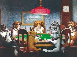 meet cassius marcellus coolidge an american artist known for his series of paintings dogs playing