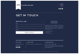 Contact Form Website Design Designing A Responsive Form 20 Inspirational Solutions