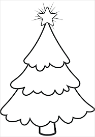 Tree Templates Free Printable Inside Template For A Christmas