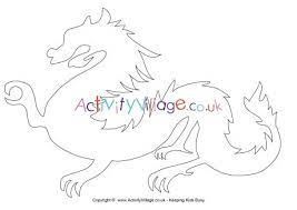 Dragon templates on templates r us deviantart. Chinese Dragon Template