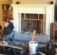 install a fireplace custom fireplace insert installed in creek near ridge rd cost to install fireplace install a fireplace