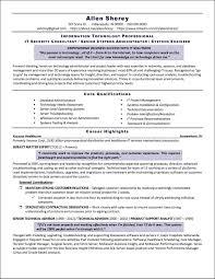 It Security Resume Example Distinctive Documents