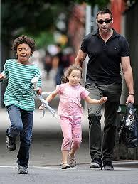 Celebrity Dad Hugh Jackman