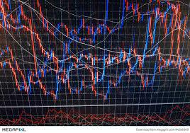 Stock Market Charts And Graphs World Economics Graph Finance Concept Forex Stock Market