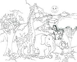 Zoo Animals Coloring Pages Cute Baby Zoo Animals Coloring Pages