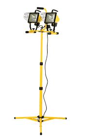 hblqwl1000t quartz work light 2x500 wt tripod hubbell lighting