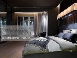 modern luxurious master bedroom. Elegant Modern Master Bedroom - Stock Photo Luxurious