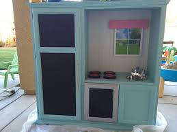Homemade Play Kitchen Homemade Entertainment Kitchen Play Center Youtube