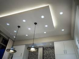 best paces for using the led drop ceiling lights