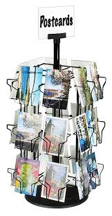 Postcard Display Stand