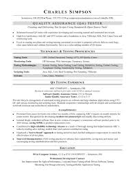 Agile Methodology Testing Resume Sample Resume For A Midlevel Qa Software Tester Monster Com