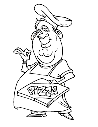 Small Picture Coloring Pages Free Printable Kids Coloring Book Pages Pizza By