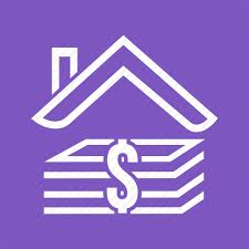 Linear Home Loans Business Currency Dollars Home Loan Money Real Estate Icon