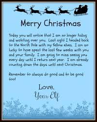 merry christmas elf left