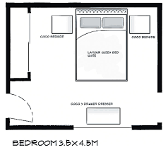 10x10 bedroom layout photo - 1