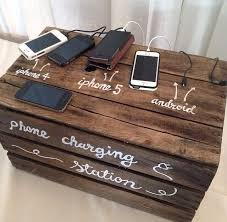 diy phone charging station awesome 17 best mobile bidding charging station ideas images on of
