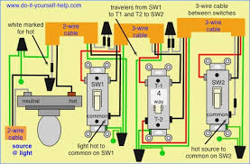 4 way switch wiring diagram multiple lights beamteam co