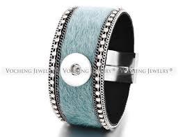 10pcs lot whole vocheng 18mm interchangeable snap jewelry magnet clasp 5 colors leather bracelet