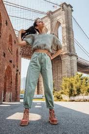 Как носить slouchy <b>джинсы</b> – модную новинку 2020 | Удобная ...