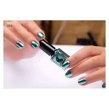 Zrcadlový Efekt Nehtový Gel Nechty Nehty Kovové Stříbrné Shinning Pigment Nehty Leštící Manikúra