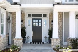 craftsman style front doorHome Tour  The Sunny Side Up Blog