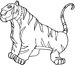Tiger Cub Coloring Pages - fablesfromthefriends.com