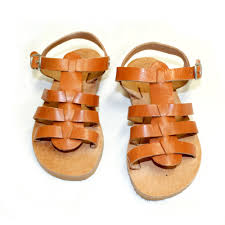leather sandals for kids pattern 50