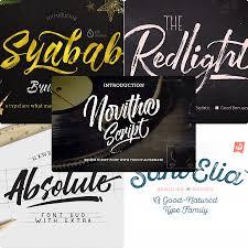 Best Handwritten Fonts For Designers Premium Script Fonts Makar Bwong Co