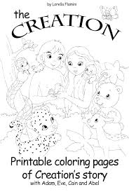 Free Printable Creation Coloring Pages Creation Coloring Page
