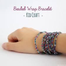 beaded wrap bracelet for kids diy beaded bracelets you bead crafts should be making