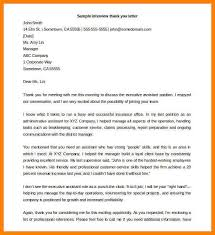 12 Interview Thank You Letter Template Paige Sivierart