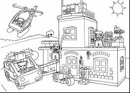 Small Picture Lego City Police Coloring Pages esonme
