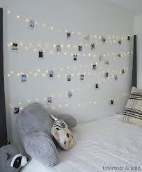 tween teen fairy light photo display wall hang extra long fairy lights and photos for