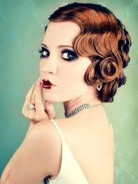 image result for 20s makeup and hair