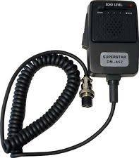 cb echo mic workman superstar dm 452 cb radio echo power microphone 4 pin fastest shipping