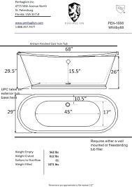 photo 1 of 9 bath tub standard size this freestanding dimensions bathtub baths dim bathtub width standard shower household sizes