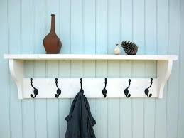 Wall Coat And Hat Rack Wall Mounted Hat Rack Rack With Shelves Mirror With Coat Hooks Wall 7